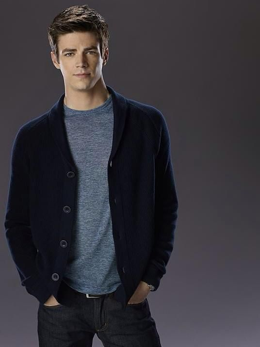 Is it me or is he getting more handsome? -- Grant Gustin. Barry Allen. Flash --