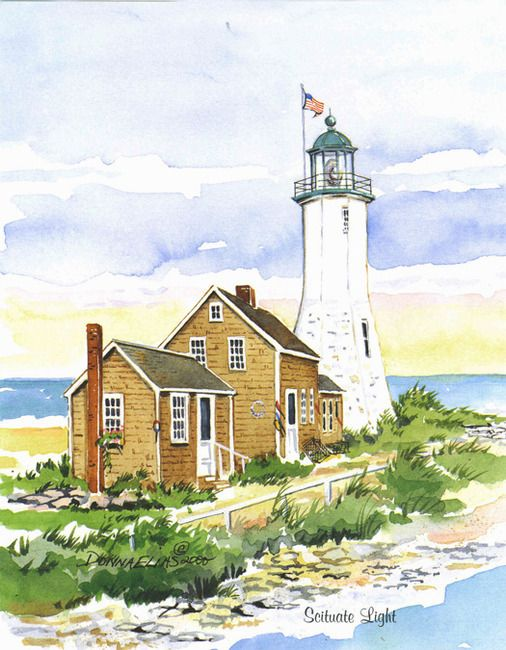 Pin On Lighthouse Art
