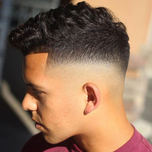 50 Best Wavy Hairstyles For Men Cool Haircuts For Wavy Hair 2020 Guide Mid Fade Haircut Mens Haircuts Fade Faded Hair