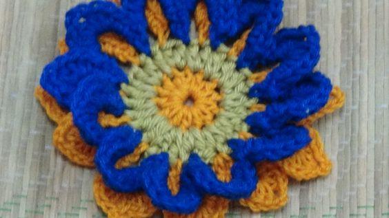 CROCHET SPRING FLOWER-2