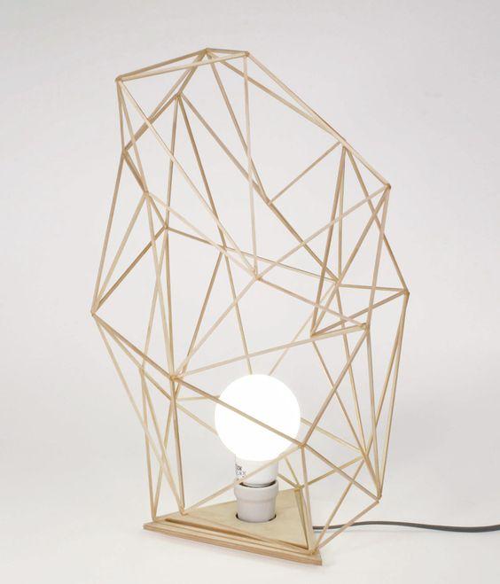 frame light' in brass, Julian Mayor | 3D Design | Pinterest ...