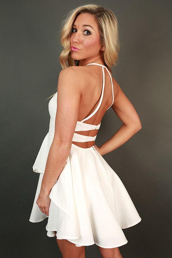 White Bachelorette Party Dress Stagette