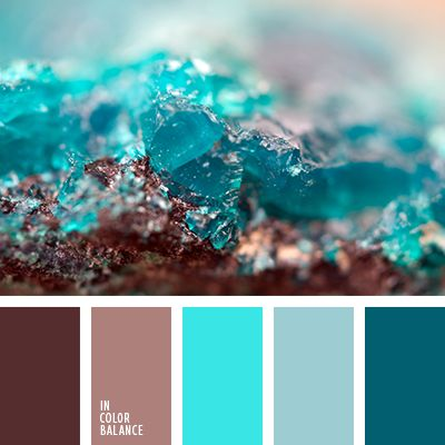 Color Combination Inspired By Nature Mineral Stone Color
