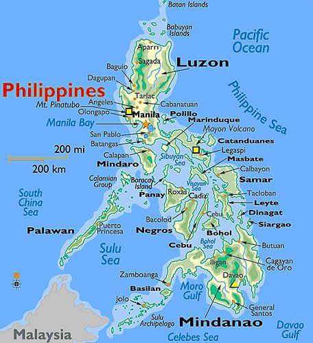 philippines islands map - Www.baseballposse.us
