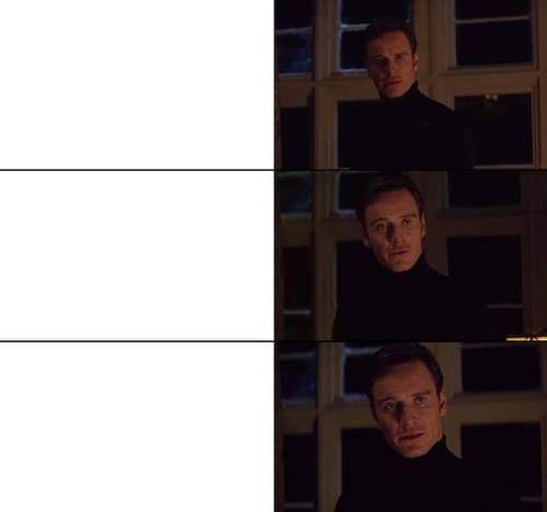 Perfection Michael Fassbender In 2020 Blank Memes Meme Template Create Memes