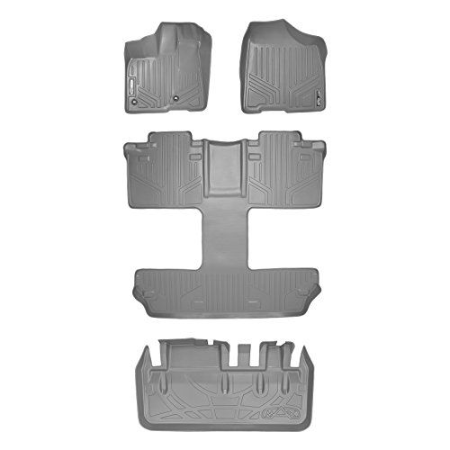 Maxfloormat Floor Mats And Maxtray Cargo Liner For Toyota Sienna 7