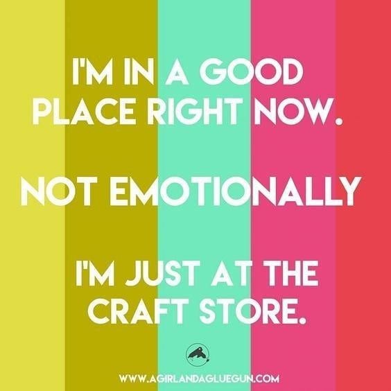 Rain Rain Go Away So I Can Be In A Great Place Today Like Dollar Tree Dollartree Dolla Crafting Quotes Funny Sewing Quotes Funny Knitting Humor Funny