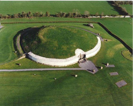 Túmulo de Newgrange, Irlanda, condado de Meath