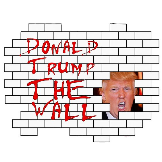 Donald Trump - The Wall by shawq
