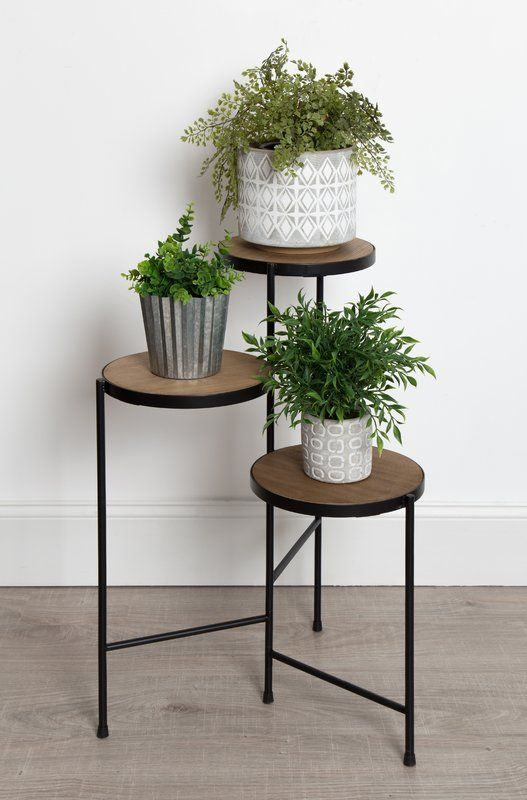 Mcaleer Fields Multi Tiered Plant Stand Plant Stand Indoor Plant Stand Table Metal Plant Stand