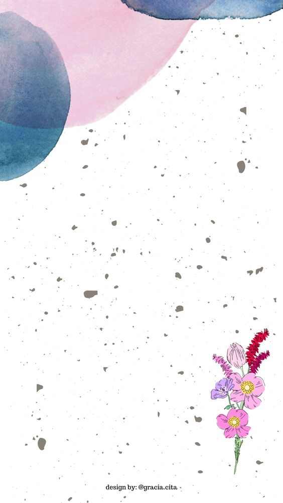 Free Insta Story Background - Rustic Theme - Organic Pink & Blue
