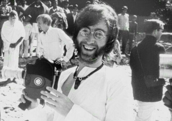 John Lennon ~ India ~ 1968