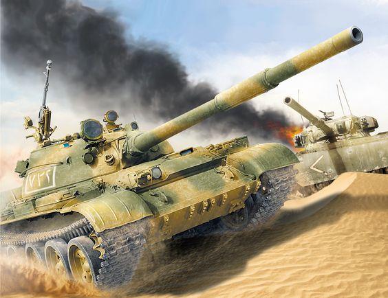 Russian T-62 tanks in Afghanistan: