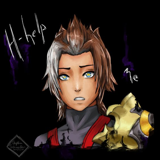 Terra Kingdom Hearts birth by sleep