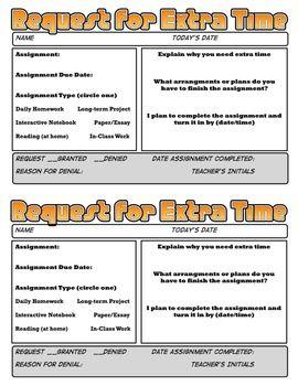 Teachers homework sheets