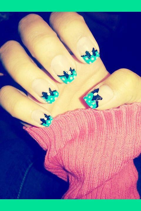 bow nails | Bow nails | Irma D.'s Photo | Beautylish