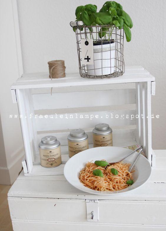 large pasta plate