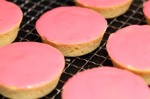 """This looks great, I will definitely try this. It seems like a great recipe that avoids the """"fake"""" taste of places like Dunkin' Donut, their donuts were so fake tasting, it wasn't good. I love how the icing is coloured by raspberries, I must try these!"""