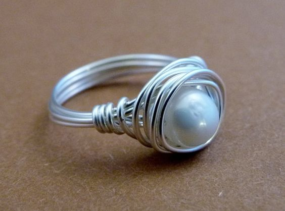 I own this ring! Love it! Freshwater Pearl Simple Pleasures Ring  Nickel Free by GHdesigns, $18.00