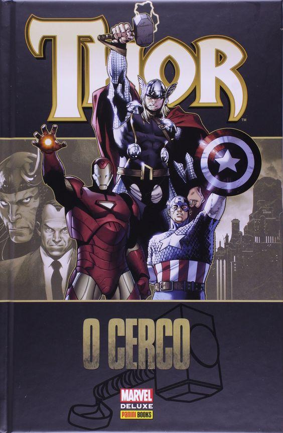 Thor - O Cerco - Marvel Deluxe - MonsterBrain