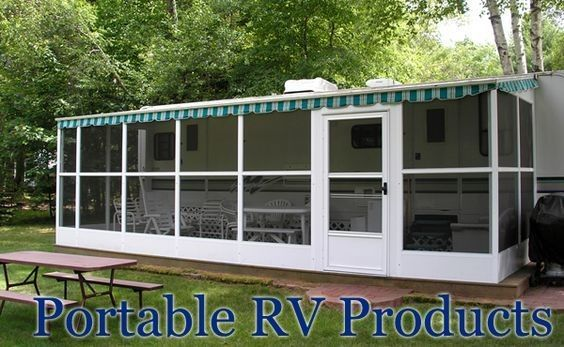 Portable Carport 593 Remodeled Campers Rv Screen Rooms Trailer Living