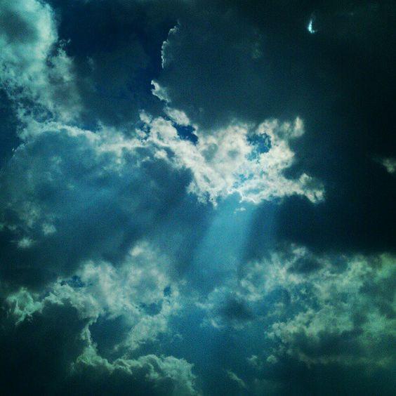 Sunlight gate in sky of As-Salt #JO