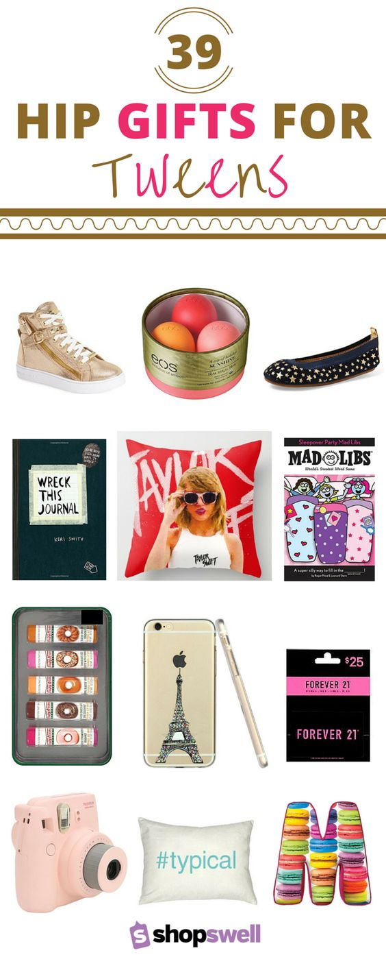Those hard to shop for tweens? We've gathered 39 of the hottest gifts sure to please even the pickiest of tween girls. Create your wish list now.