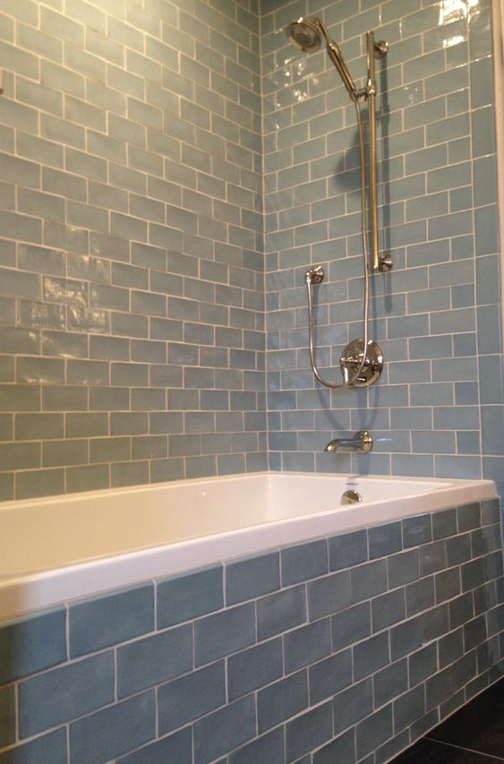 Subway Tiles Tubs And Roman On Pinterest