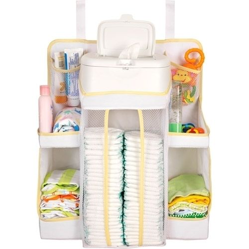 Store baby's essentials for a tidy nursery. The Baby Diaper and Toiletries Organizer from DEX Baby keeps everything organized and within reach. $16.99