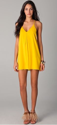 i want a dress in this color...shopbop.com