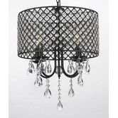 Found it at Wayfair - 4 Light Crystal Chandelier
