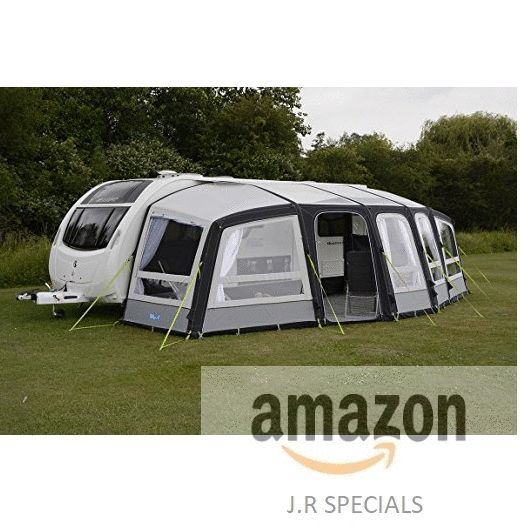 Kampa Frontier Air Pro 400 Inflatable Caravan Awning 2018 Model By Be The First To