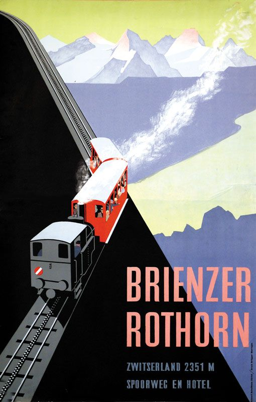 Brienzer Rothorn. Emil Schulthess. 1934.