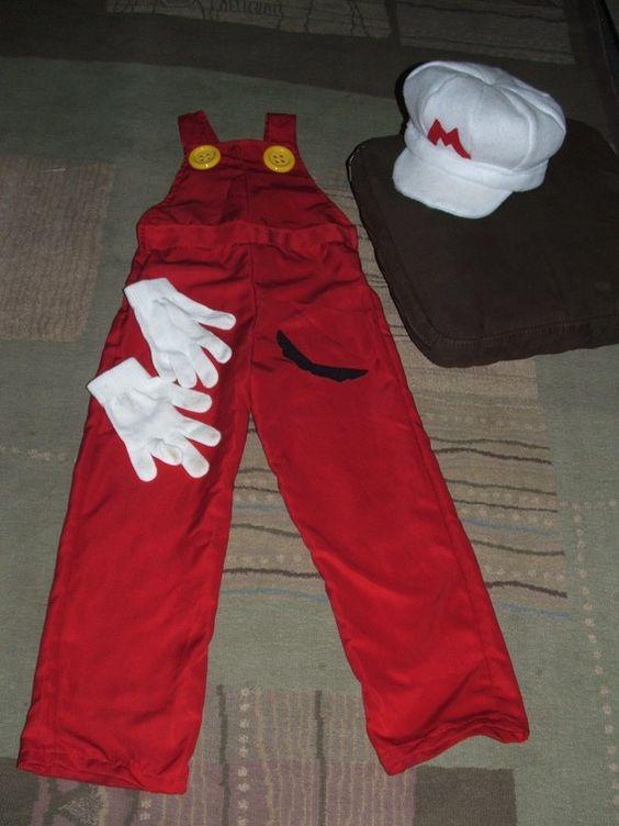 Fire Mario Costume