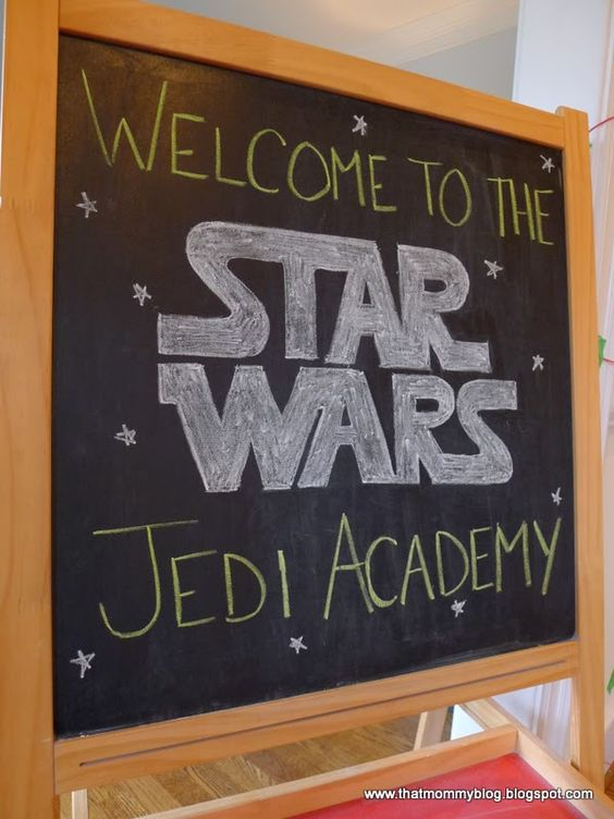 That Mommy Blog: My Baby is a Jedi: a Star Wars Birthday Party: