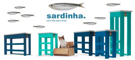 Sardinha - Varas Verdes - Portugal Brands | http://portugalbrands.com/blog/colorful-eco-benchs/