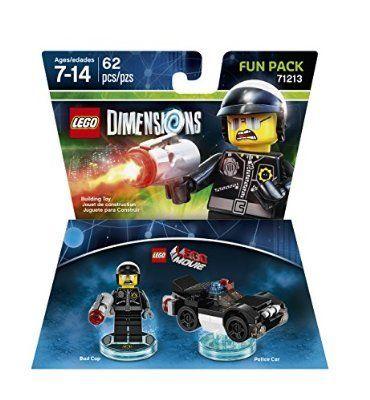 Lego Dimensions Ninjago 58pcs Sensei Wu & Flying White Dragon Fun ...