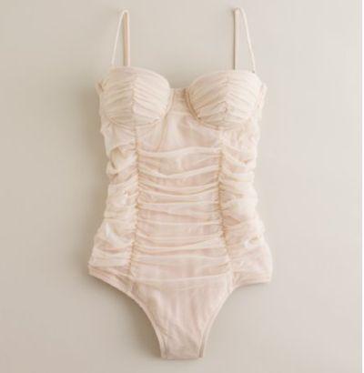 corsetera drapeada