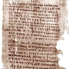 """Also known as the Nag Hammadi library, the Gnostic Gospels are a collection of leather-bound books that date back to the 4th century. They make up the major texts of Gnosticism, an offshoot of Christianity that existed around the time of the 2nd century, adherents are believe that salvation comes through deep self-knowledge and an understanding of a """"higher reality."""" The Gnostic Gospels, feature such volumes as """"The Gospel of Thomas,"""" """"The Gospel of Mary,"""" and even the Gospel of Judas."""