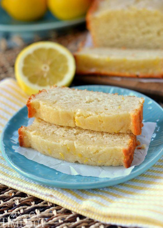 Rachel's Favorites: Glazed Light Lemon Bread