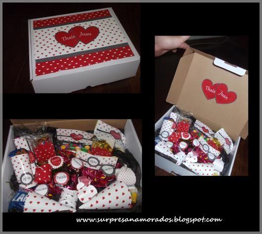 Caixa Surpresa Para Namorado Como Fazer 55 Ideias Lindissimas