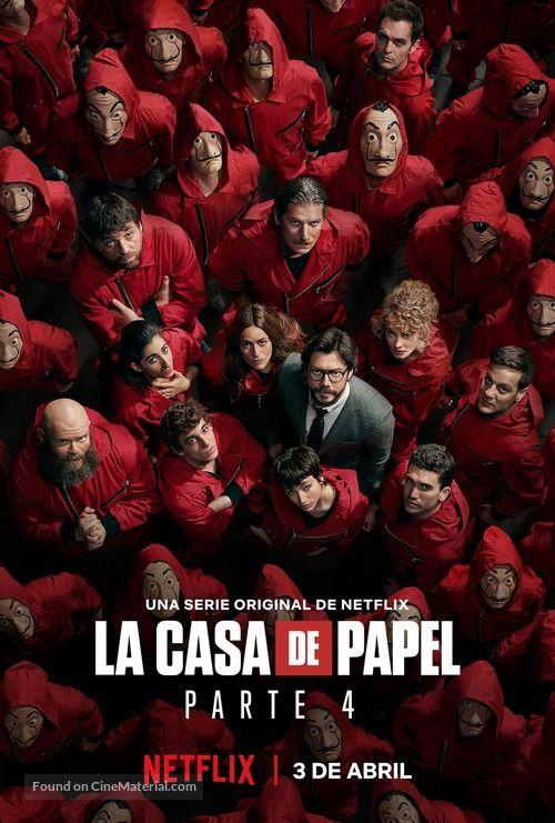La Casa De Papel 2017 Spanish Movie Poster In 2020