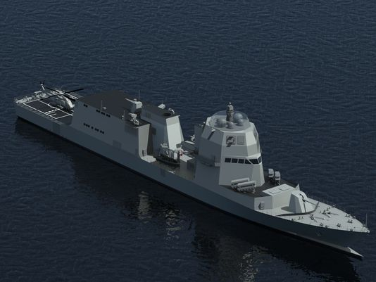 Italy Reveals Innovations on New Naval Vessels