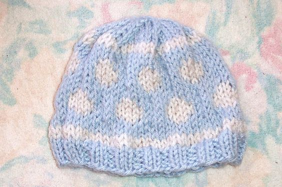 Baby Hat Knitting Pattern Ravelry : Ravelry: Free SmoothFoxs Baby Bubbles Knit Hat pattern by Donna Mason-Sv...