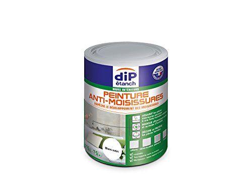Peinture Anti Moisissures Dip Etanch Blanc Satin Pot De 0 75l En 2020 Peinture Anti Moisissure Moisissure Outil Rotatif