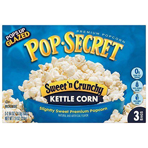 kettle corn microwave popcorn
