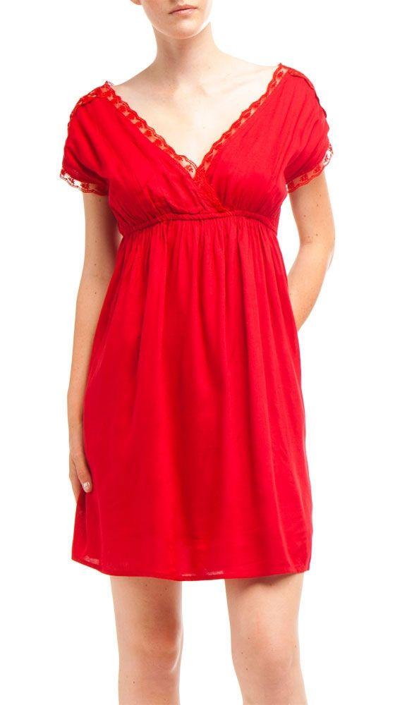 Dress, Brigth Red by Dex