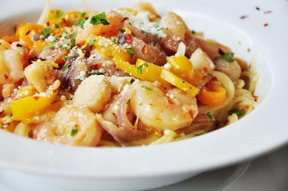 Shrimp and Scallop Scampi on MyRecipeMagic.com