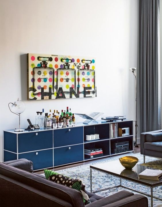USM Haller sideboard in steel blue wwwm s t o r a g e - auserlesene mobel und wohnaccessoires unique creation