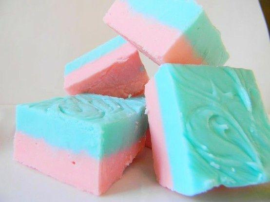 cotton candy fudge cotton candy fudge